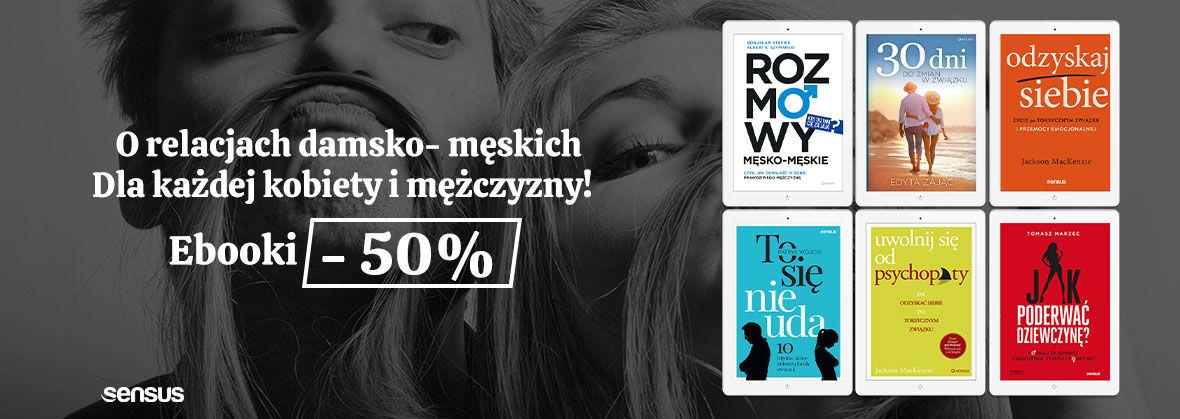 Promocja na ebooki [-50%] O relacjach damsko - męskich